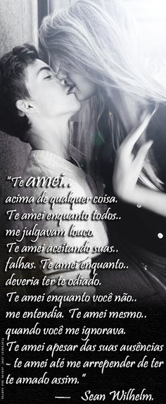 E tanto medo, tanto amor — Sean Wilhelm. Light Of Life, Texts, Crushes, Life Quotes, Nostalgia, Thoughts, Feelings, My Love, Words