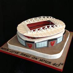 Arsenal Emirates Stadium Cake