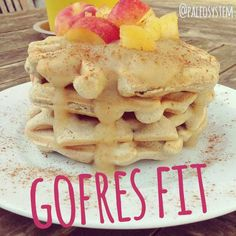 Gofres paleo fitness