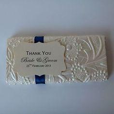 personalised wedding chocolate bars - Google Search