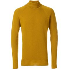 Drumohr turtleneck jumper ($224) ❤ liked on Polyvore featuring men's fashion, men's clothing, men's sweaters and mens turtleneck sweater