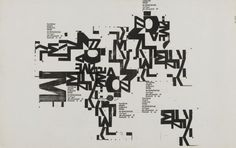 10 weingart poster by wolfgang weingart #typography #graphicdesign