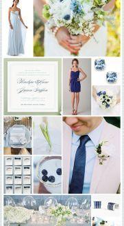 REVEL: Powder Blue   Navy Wedding Inspiration