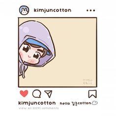 옷장덕분에 전신연습💛 #썸타 #김종대 #CHEN Exo Chanbaek, Suho Exo, Exo Cartoon, Chibi, Exo Stickers, Nct Album, Exo Fan Art, Cute Patches, Short Comics