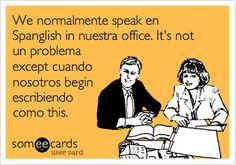 Spank me in spanish