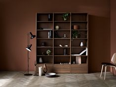 """Aufbewahrungstyp """"abenteuerlustig"""": Copenhagen Wandsystem.   #boconcept #storage #scandinaviandesign  #interior"""