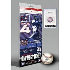 2006 World Series Mini-Mega Ticket - St Louis Cardinals
