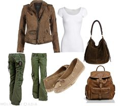 Causal Day, created by christin-jameson on Polyvore