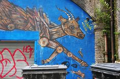 Shoreditch, le Disneyland du street-art à Londres