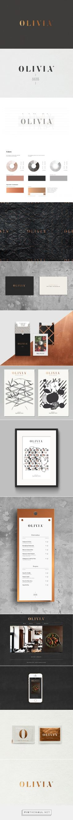 OLIVIA Bistro Urbano on Behance... - a grouped images picture - Pin Them All