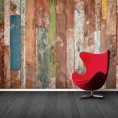 Fotobehang sloophout | Maak het jezelf eenvoudig en bestel fotobehang voorzien van een lijmlaag bij YouPri om zo gemakkelijk jouw woonruimte een nieuwe stijl te geven. Voor het behangen heb je alleen water nodig!   #behang #fotobehang #print #opdruk #afbeelding #diy #behangen #hout #sloophout #oud #vervallen