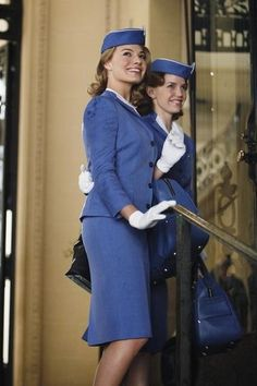 Margot Robbie and Kelli Garner in Pan Am (2011)
