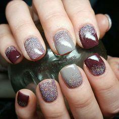 Winter Nails Gray Ideas