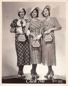 30s women's outfits