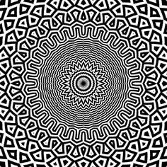 50 divertidas ilusões de óptica com GIFs animadas 26