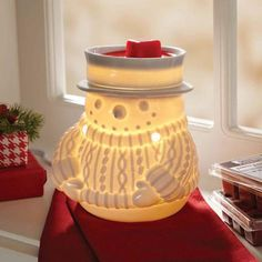 Better Homes and Gardens Warmer, Happy Snowman