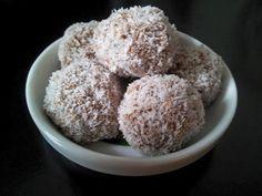 Proteínové kokosové guličky