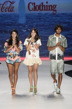 RIO DE JANEIRO FASHION WEEK: Coca-Cola Clothing Spring 2014 - Image Amplified: The Flash and Glam of All Things Pop Culture. From the Runway to the Red Carpet, High Fashion to Music, Movie Stars to Supermodels.