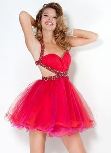 Vestido Curto com Saia Bailarina Busto Plissado Nicolette 2