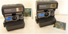 Vintage Talking Polaroid 600 Camera WORKS, TESTED. Has Flash. Uses 600 Film, Lomography Instant Photography
