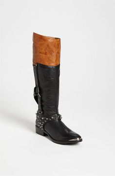 Sam Edelman 'Park' Boot available at #Nordstrom ~ This goes to Eleven English Riding Boots with a wondrous touch of Rock N' Roll!