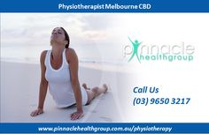 If you are looking for the best physiotherapist in Melbourne CBD  then Pinnacle health group is the right place to visit.