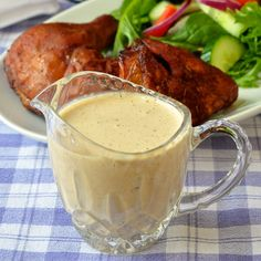 White Barbecue Sauce - an Alabama favorite! More of a condiment than a BBQ sauce this tangy, creamy sauce compliments both smoked & grilled chicken & pork. White Bbq Sauce, Barbecue Sauce, Bbq Sauces, Barbecue Chicken, Smoked Chicken, Grilled Chicken, Smoked Pork, Chicken Dips, Chicken Bacon