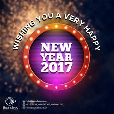Boundless Technologies wishes you every day of the new year glow with good cheer, happiness and success for You and your Family. Happy New Year 2017  #happynewyear #newyearevent #newyearnight #welcome2017 #dubai #pakistan