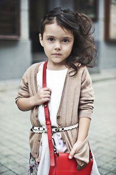 Alina Nivia, fashion kids,  little girl, model