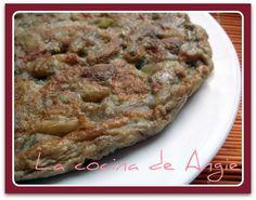 La cocina de Angie: TORTILLA DE BERENJENA