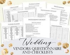 Gold Wedding Planner DIY Wedding Planner Pages Printable Wedding Wall, Gold Wedding, Planner Pages, Planner Diy, Diy Wedding Planner, Budget Bride, Wedding Vendors, Printable, Etsy