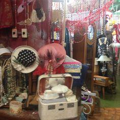 Old Glory Riverside Calif Vintage Hats Display