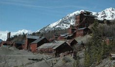 Alaska, Arizona and Arkansas are littered with ghost towns from the mining age, including Fairbank, Sasco, Rush, Swansea, Kennecott and Independence Mine