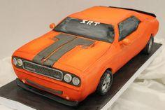 Dodge Challenger Cake. Birthday cake for me?