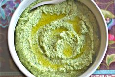 Broccoli Hummus This recipe is a perfect way to reap the amazing health benefits of broccoli, in a different and creative way, and the perfect way to make your kids eat their veggies!