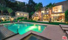 Lights and pool
