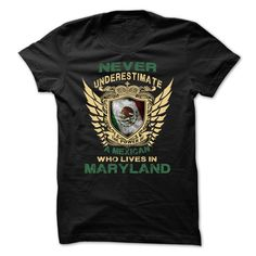 Never Underestimate The Power ᓂ Of a Mexican Who lives In MarylandMexican - Maryland. This Shirt Is A Must Have And A Perfect Gift! If you want another Tshirt, please use the Search Bar on the top right corner to find the best one (NAME , AGE , HOBBIES , DOGS , JOBS , PETS...) for you.Mexican Maryland