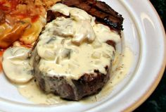 Marinated Steak From the Grill: Grilled Steak With Creamy Bearnaise Sauce