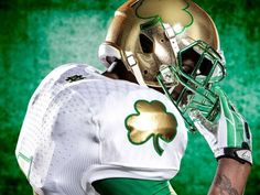 Adidas Notre Dame Uniform | Notre Dame Football Unveils Its Flashy New 'Shamrock Series' Uniform