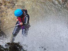 Cavalcando la cascata - Gran Sasso