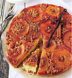 Prăjitură răsturnată cu mere- un deliciu care trebuie degustat...cât mai des!