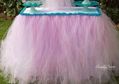 No-Sew Table Skirt Steps | CatchMyParty.com