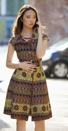 Countess ankara dress by GITAS PORTAL by GitasPortal on Etsy https://www.etsy.com/uk/listing/280341136/countess-ankara-dress-by-gitas-portal