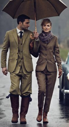Designer unknown but great looking suits