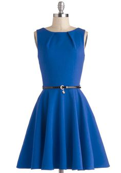 Luck be a Lady in Cobalt, @ModCloth