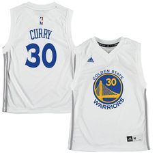 Stephen Curry Golden State Warriors adidas Youth Fashion Replica Jersey -  White 3179931f5