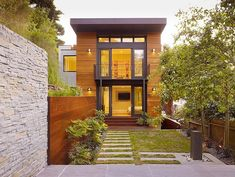 path Cole Valley Residence by John Maniscalco Architecture