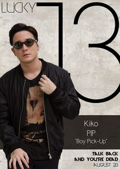 Kiko Ramos Pip Morello - Boy Pick-up Lucky 13 Talk Back You're Dead Cast Boys Names All Names Pictures Information Videos Latest News Pip Boy, Talking Back, You're Dead, Jadine, Gangsters, Local Artists, Up, Funny Pictures, News