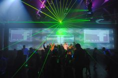 Bar & Bat Mitzvah Party Tech & Entertainment Trends - Giant Video Wall at Vibe NJ - mazelmoments.com