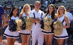 washington huskies cheerleaders